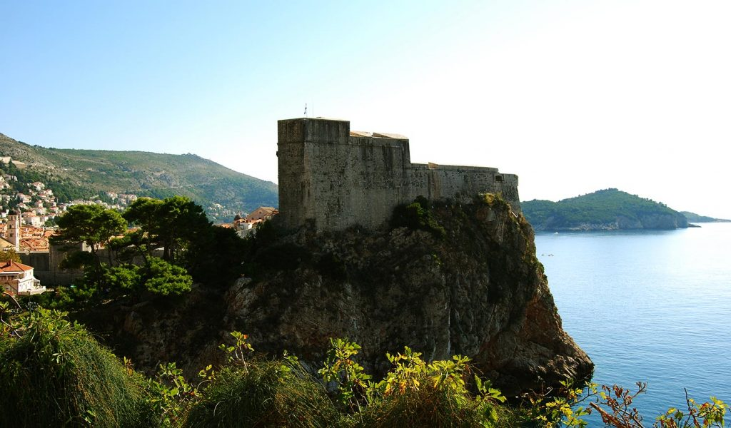 Fort Lovrijenac, The Old City and Lokrum Island