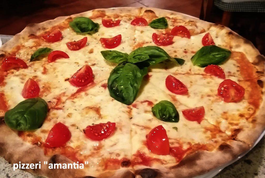 Pizzeria Amantia 's hot pizza